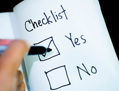 Checklist to Save Time When Writing Your Dissertation